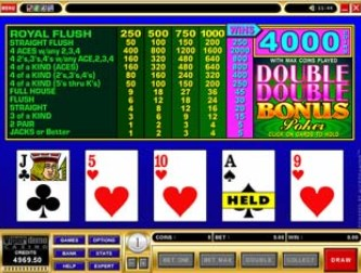 Captain Cooks online Video Poker