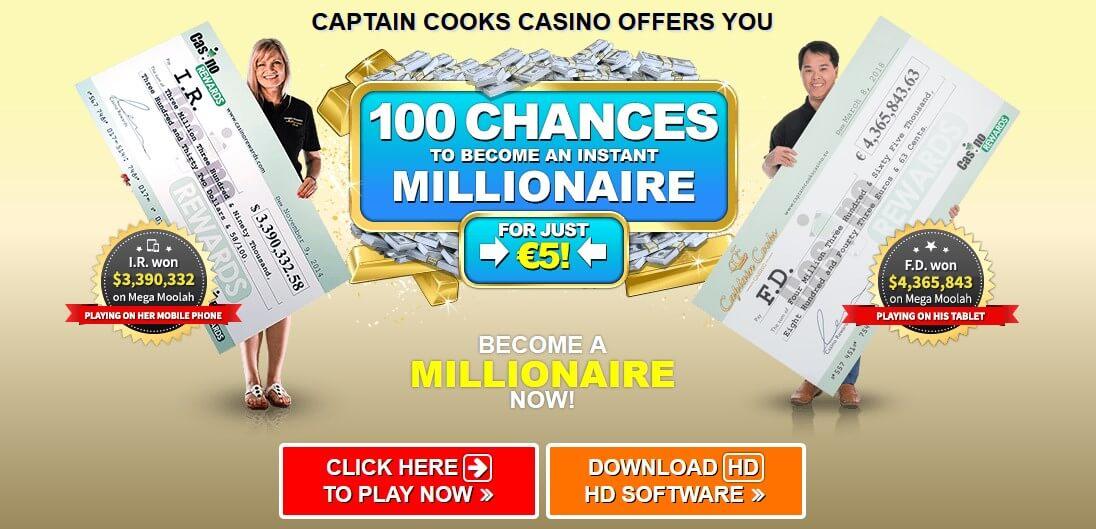 Download Captain Cooks casino