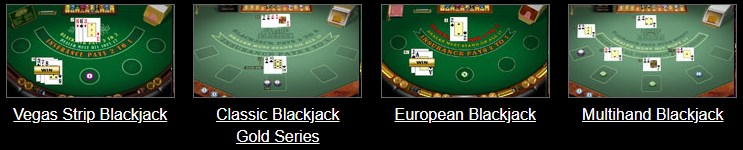 captain cooks casino blackjack games